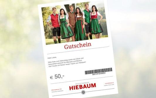 Hiebaum-E-Mail-Gutschein