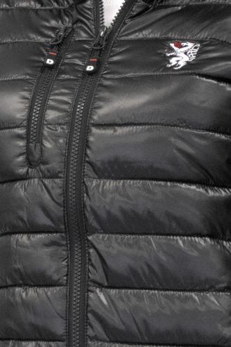 Damen-Jacke-schwarz-Detail