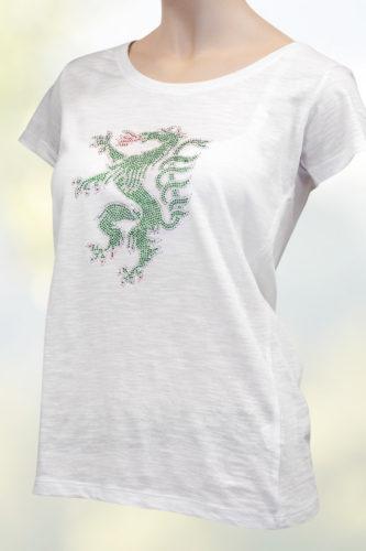 Damen-Tshirt-weiss