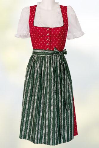 Hiebaum-Dirndl-rot-Schuerze-gruen-1
