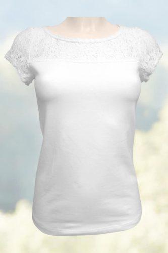 Damen-T-Shirt-Spitze-2