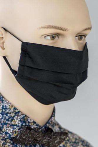 Mund-Nasen-Schutz-Faltmaske-schwarz-1
